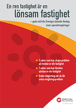 Specialrengöringar Sverige broschyr