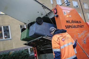 HSB i Göteborg beställer sopkärlstvättning