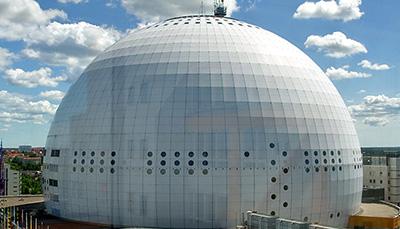 Fasadtvätt Globen