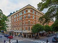 Trivseluppdrag på historiskt intressant byggnad – sockeltvättning i Stockholm