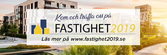 Kom och möt oss 19 september på Fastighet 2019 mässan i Kalmar