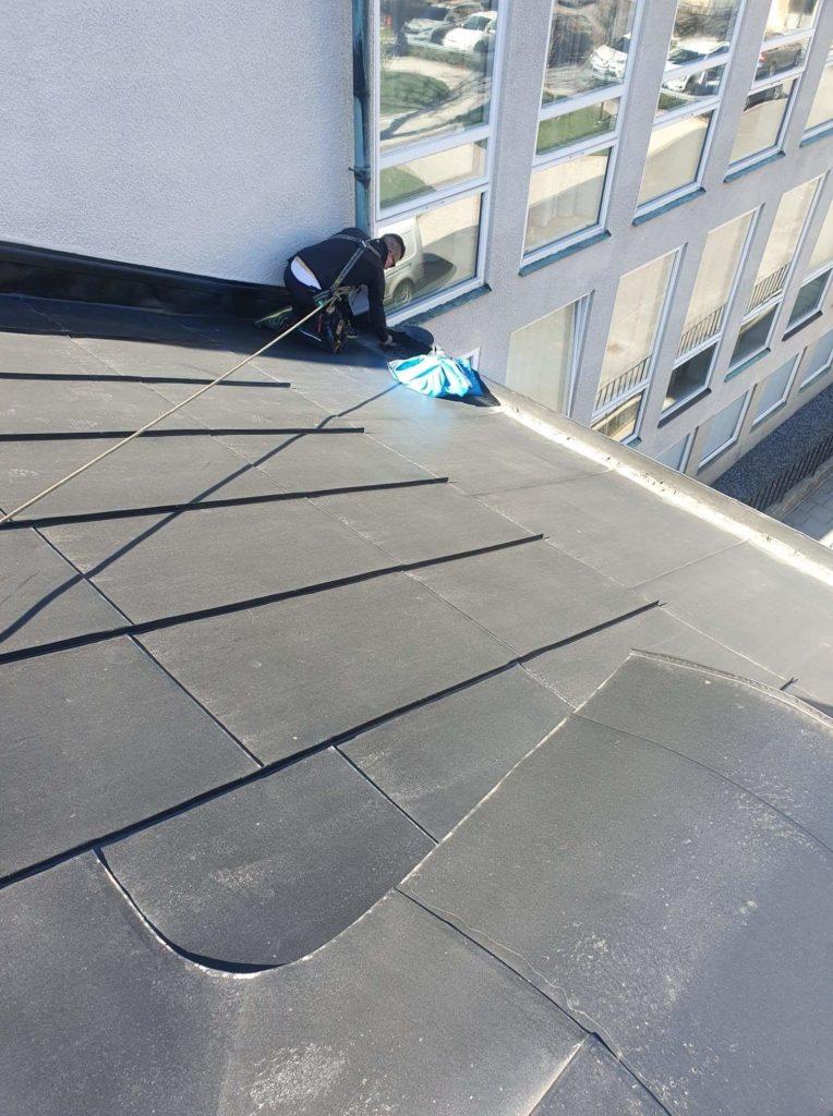 Specialrengöringar Sverige rensar tak från måsbon