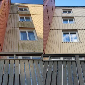 Fasadtvätt i Nyköping
